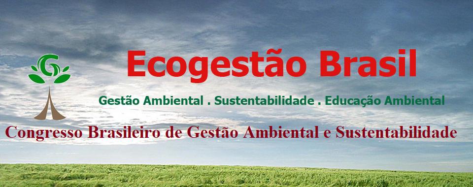 Congresso Brasileiro de Gestão Ambiental e Sustentabilidade - Congestas