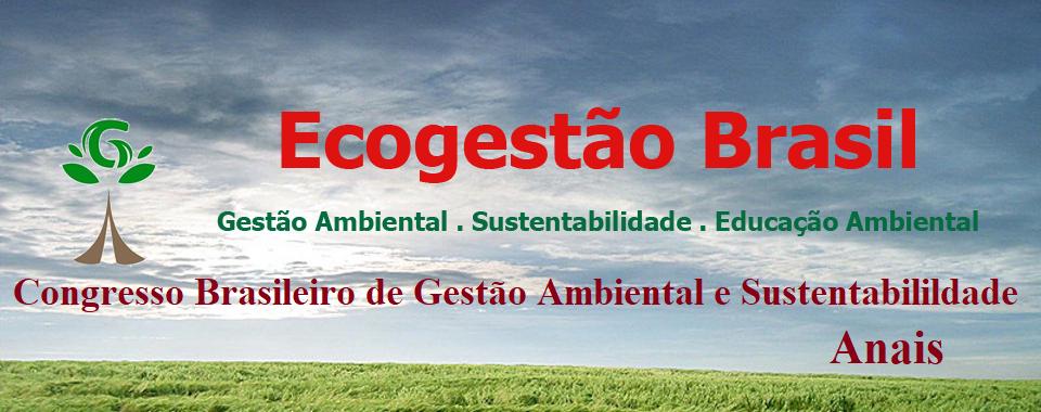 Congresso Brasileiro de Gestão Ambiental e Sustentabilidade - Congestas / Anais