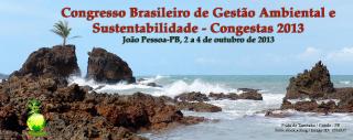 Congresso Brasileira de Gestao Ambiental e Sustentabilidade - Congesta 2013