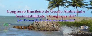 Congresso Brasileira de Gestao Ambiental e Sustentabilidade - Congesta 2017