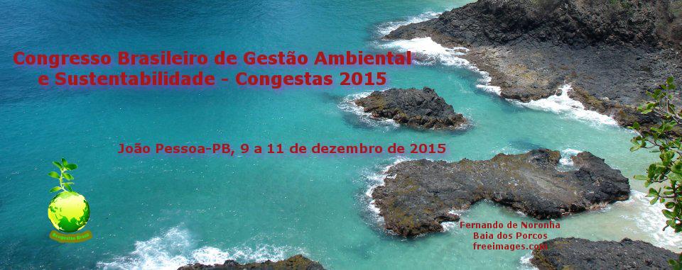 Congresso Brasileiro de Gestão Ambiental e Sustentabilidade - Congestas 2015